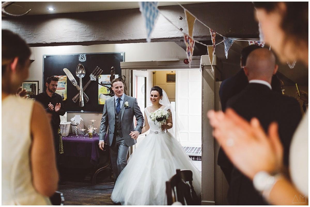 Emily & David's wedding in Preston, Lancashire.
