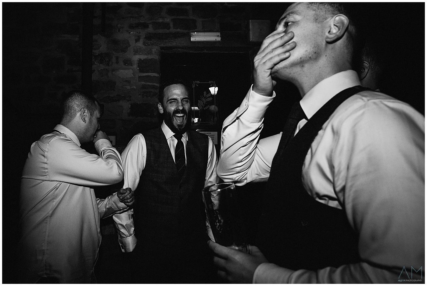 documentary wedding photography at beeston manore