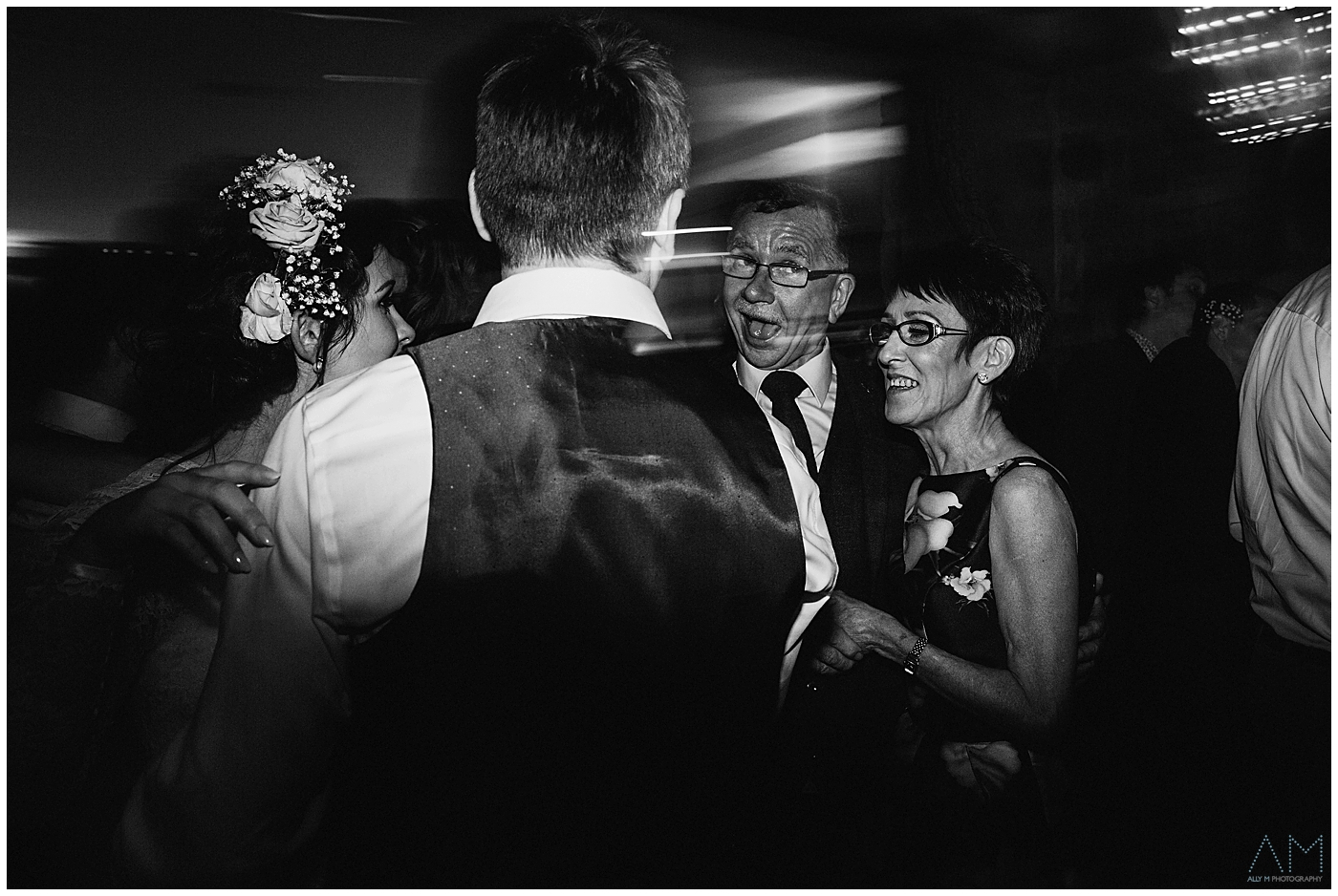 father of the bride pulling his face