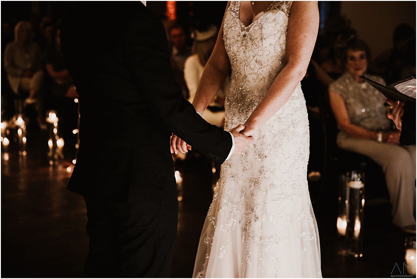 brider and groom hand in hand