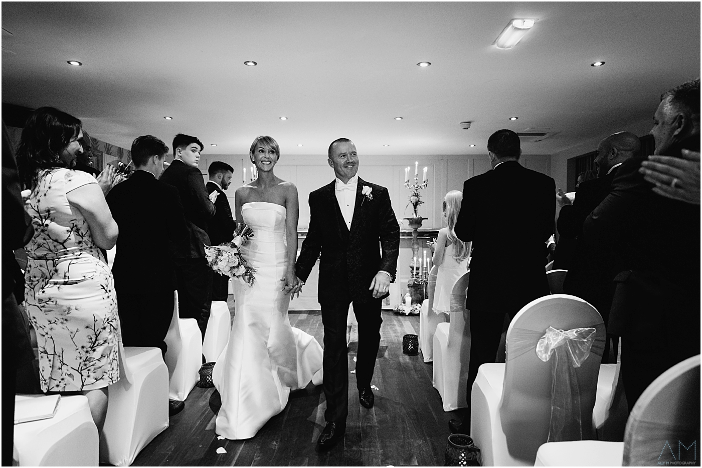 Just married at Great John Street Hotel, Manchester