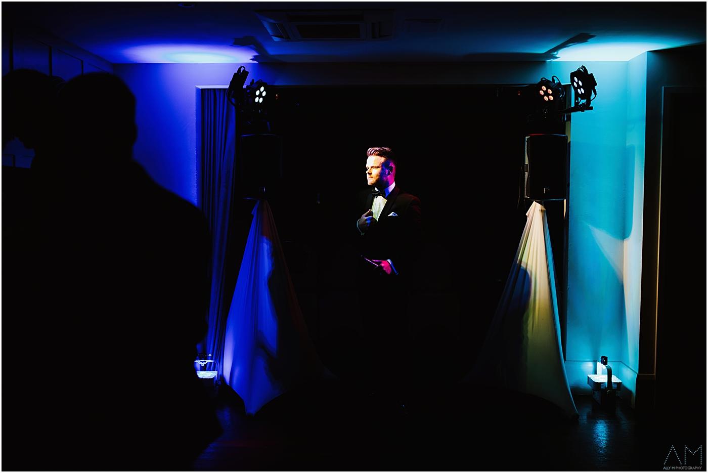 Wedding singer at Great John Street Hotel
