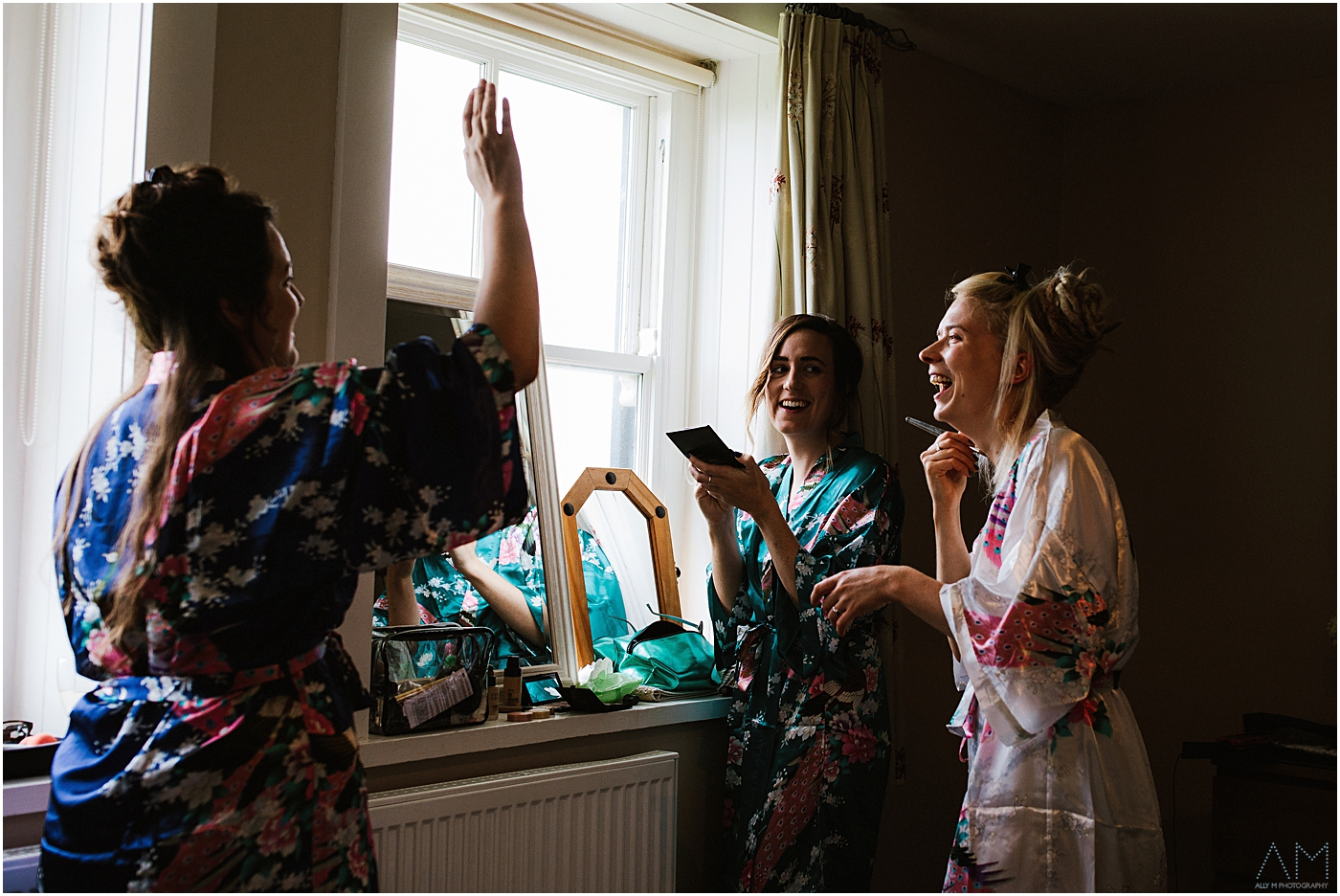 Bridal preparations in Anglesey