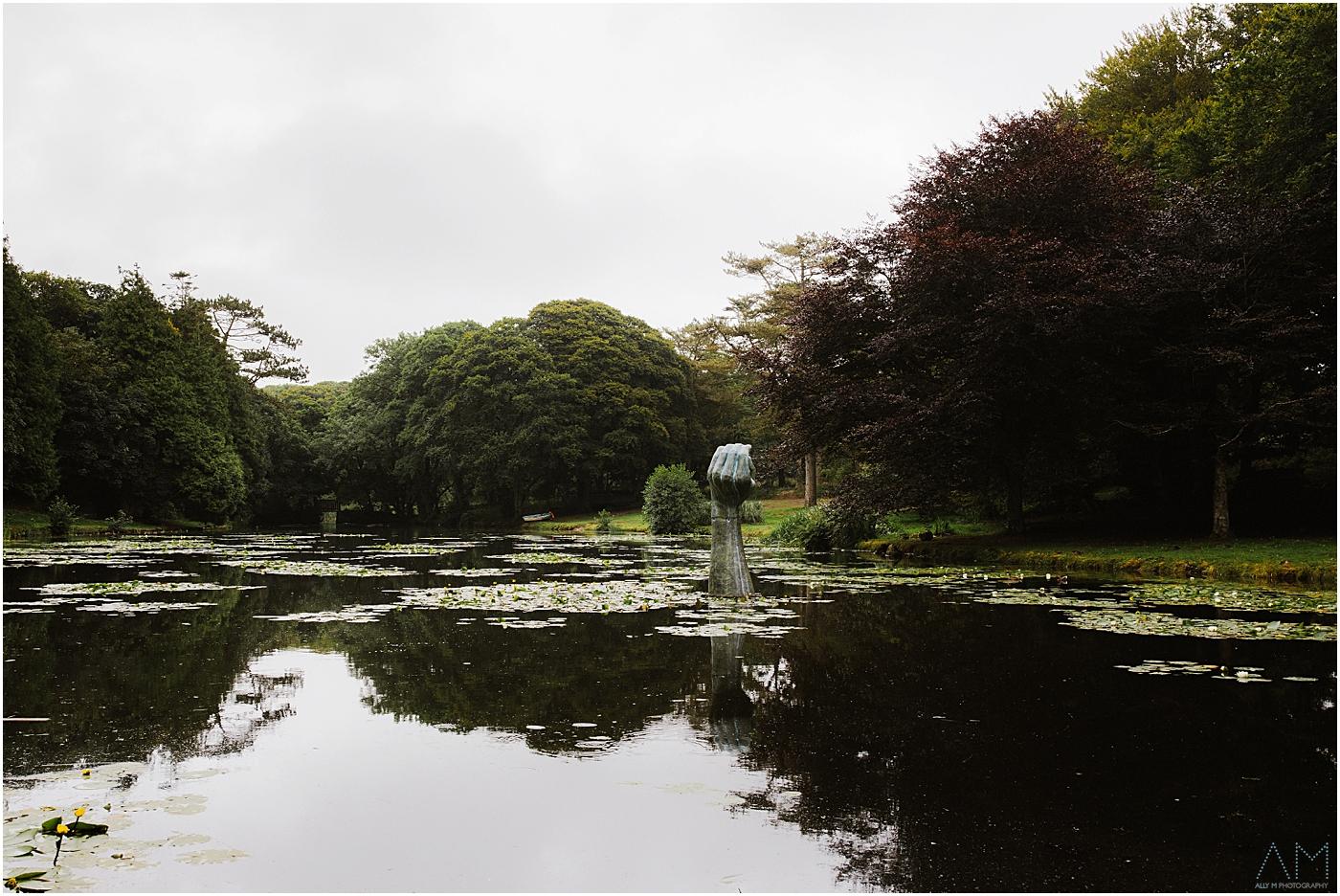 Carreglwyd lake