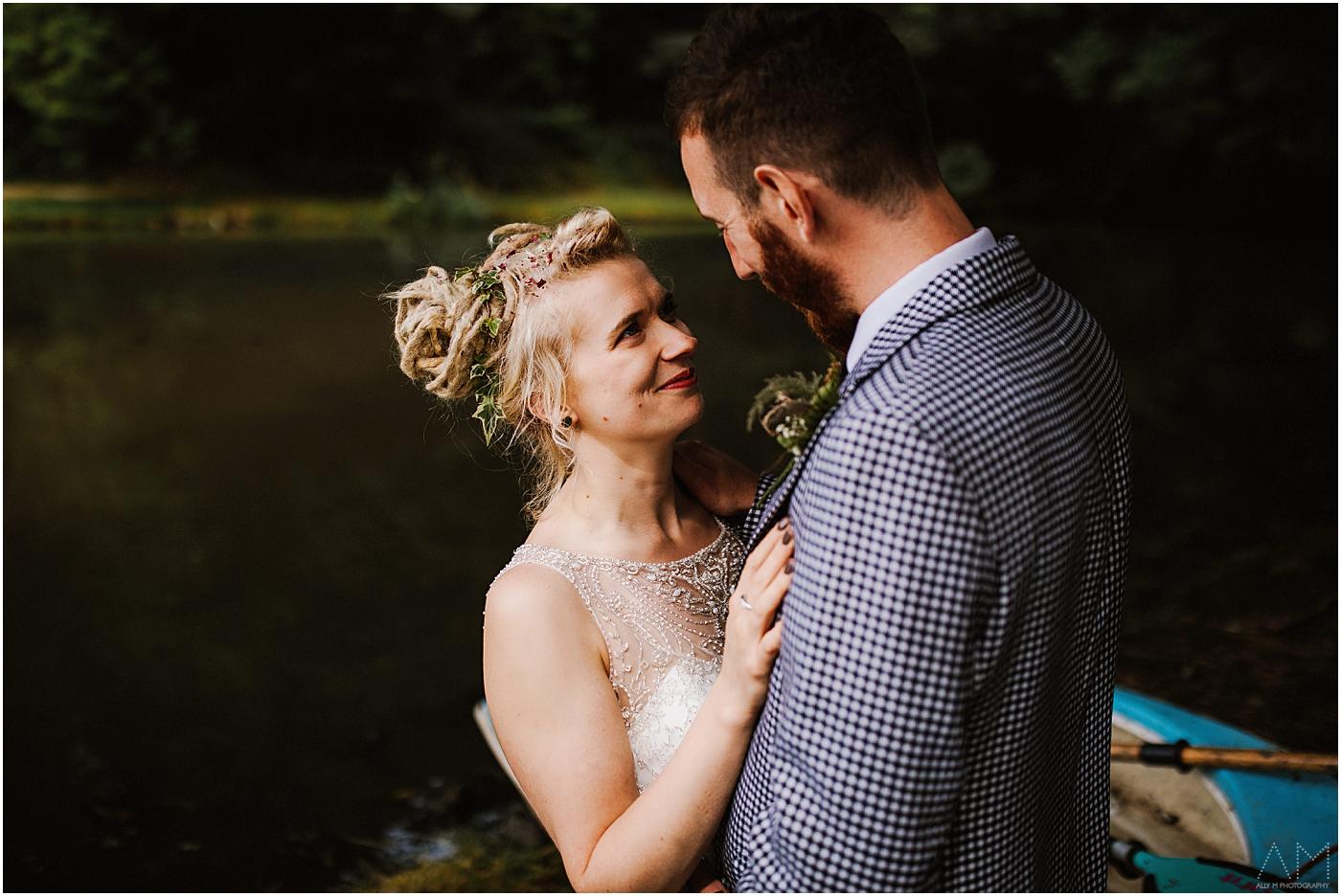 Carreglwyd wedding photo