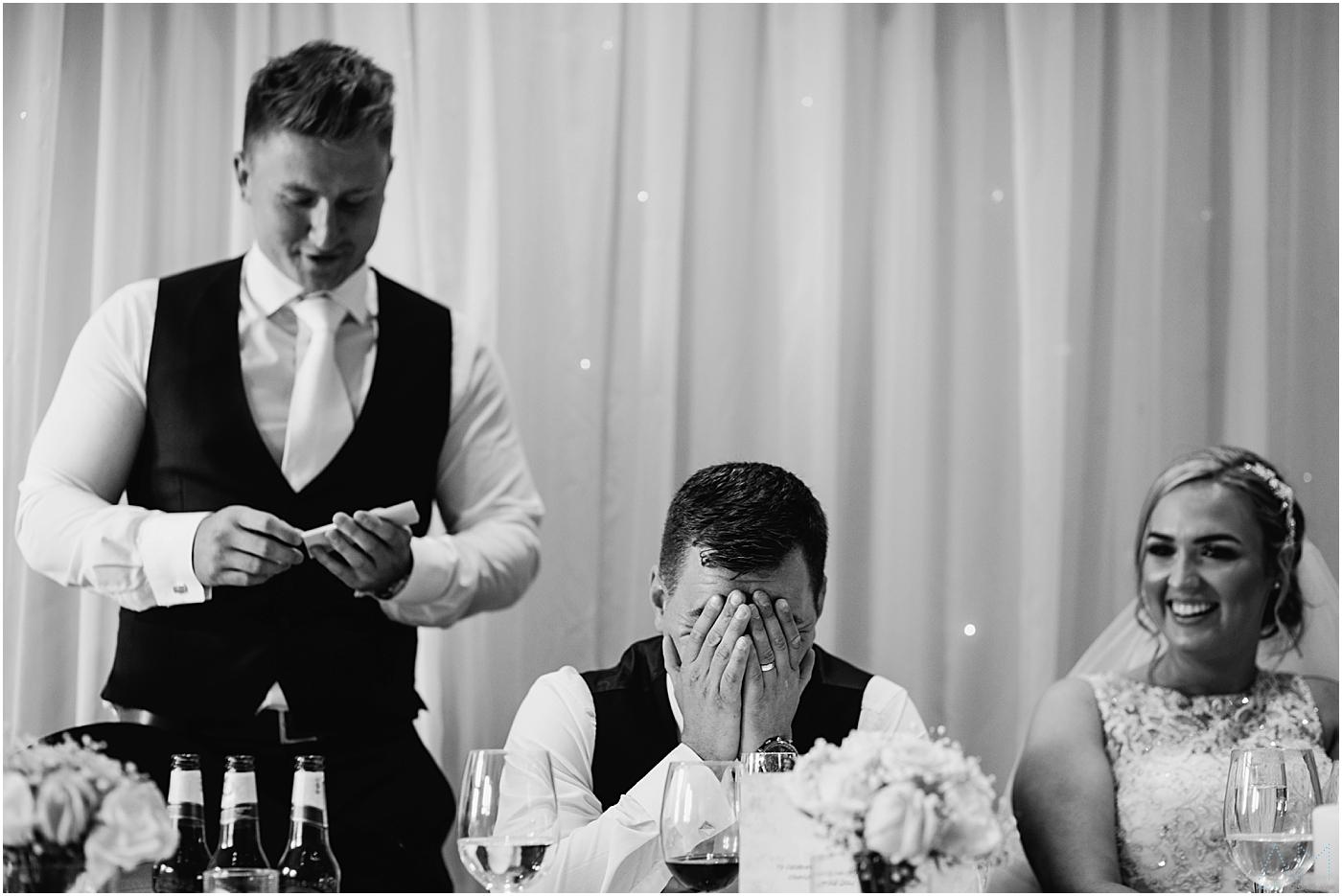 Best man speech embarrassing the groom