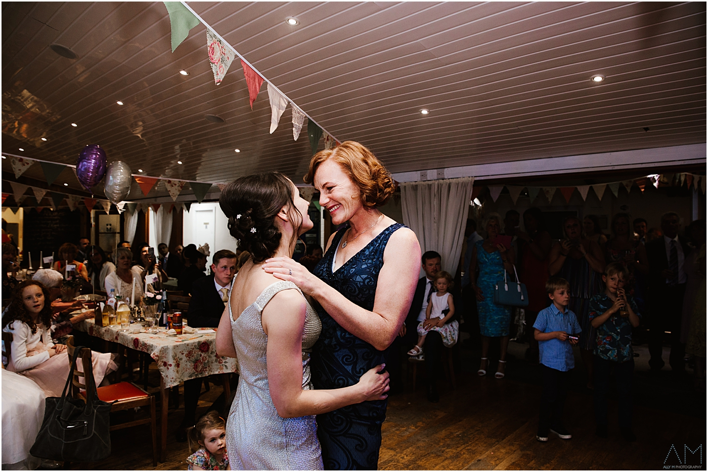Lovely first dance at Bolton sailing club