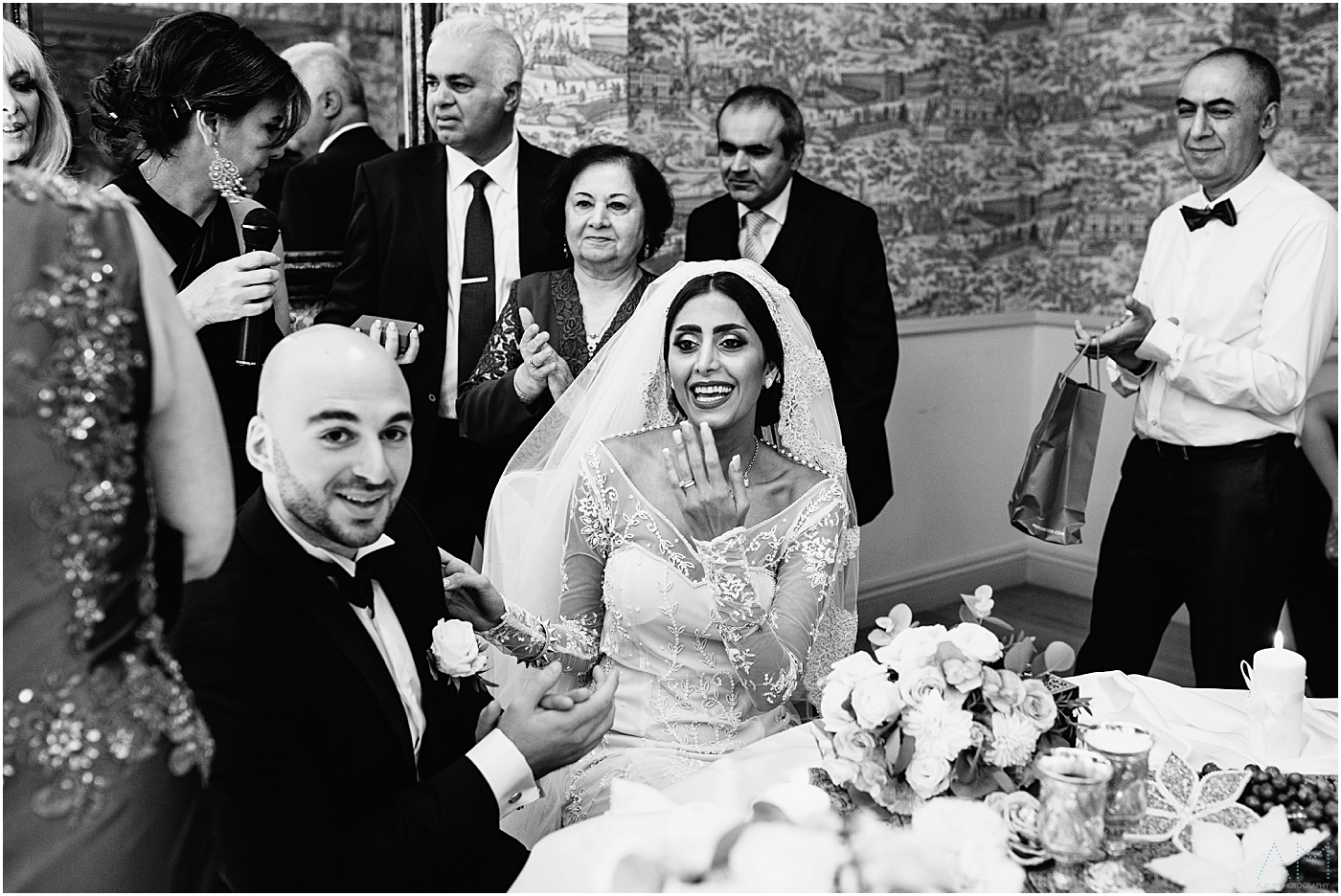 Iranian wedding ceremony