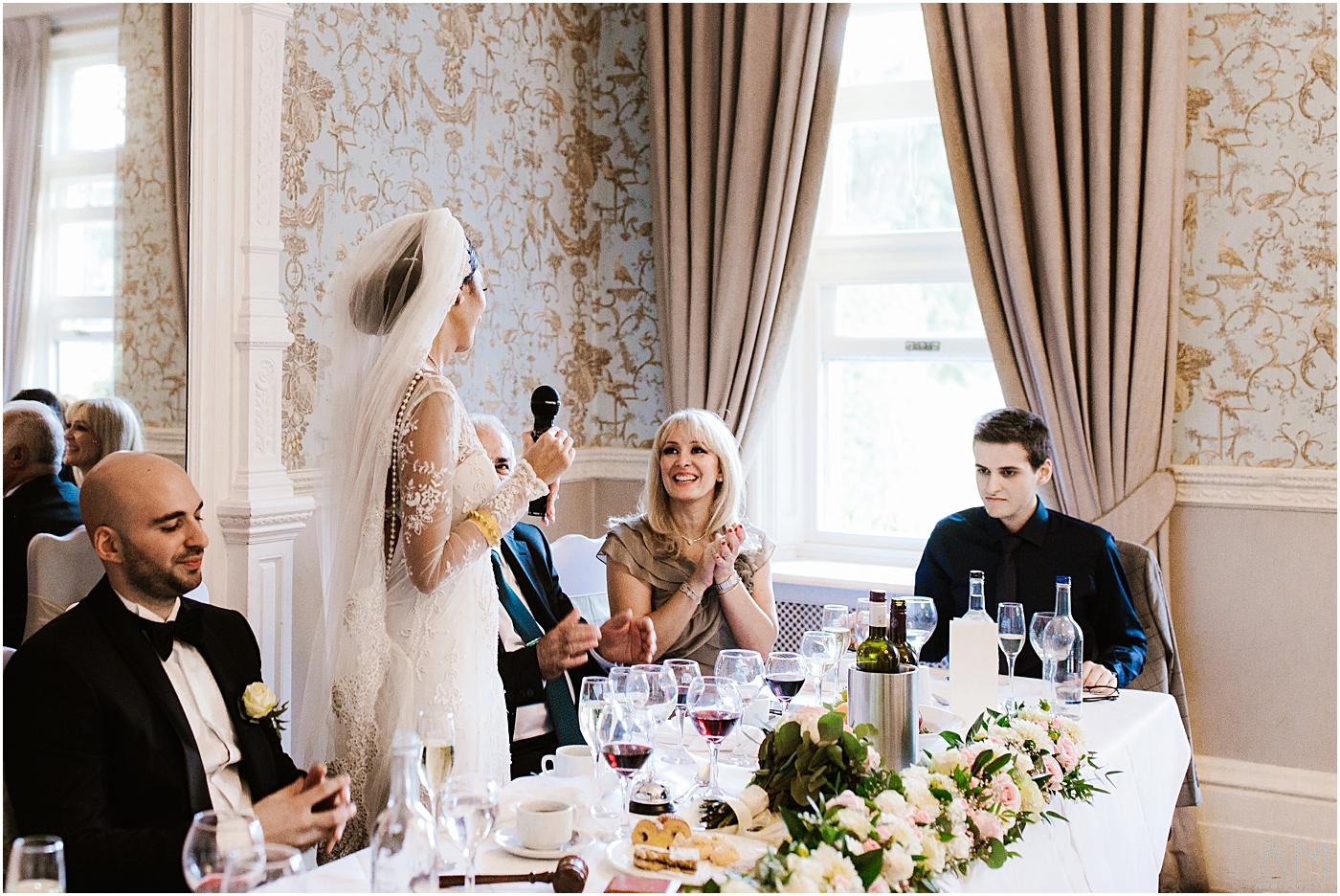 bride speech