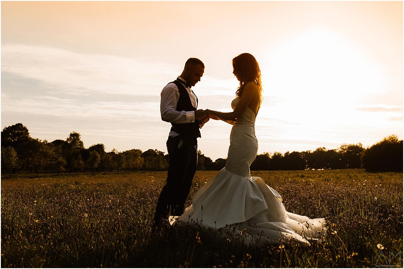 Rivington Hall barn Wedding Photographer