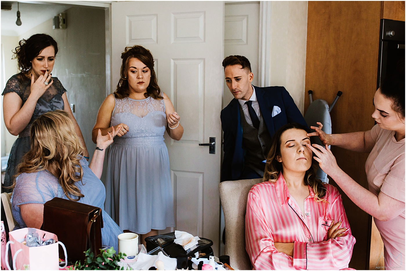 Bridal prep in manchester