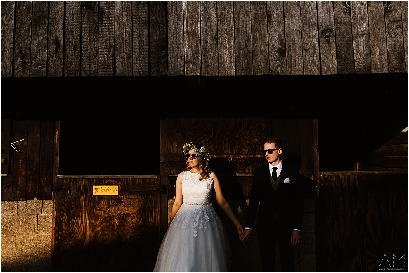Cool wedding photography in Manchester