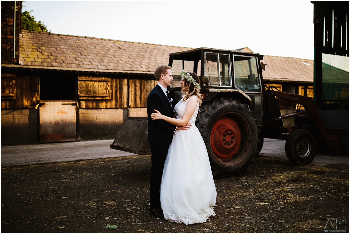 farm wedding in Manchester