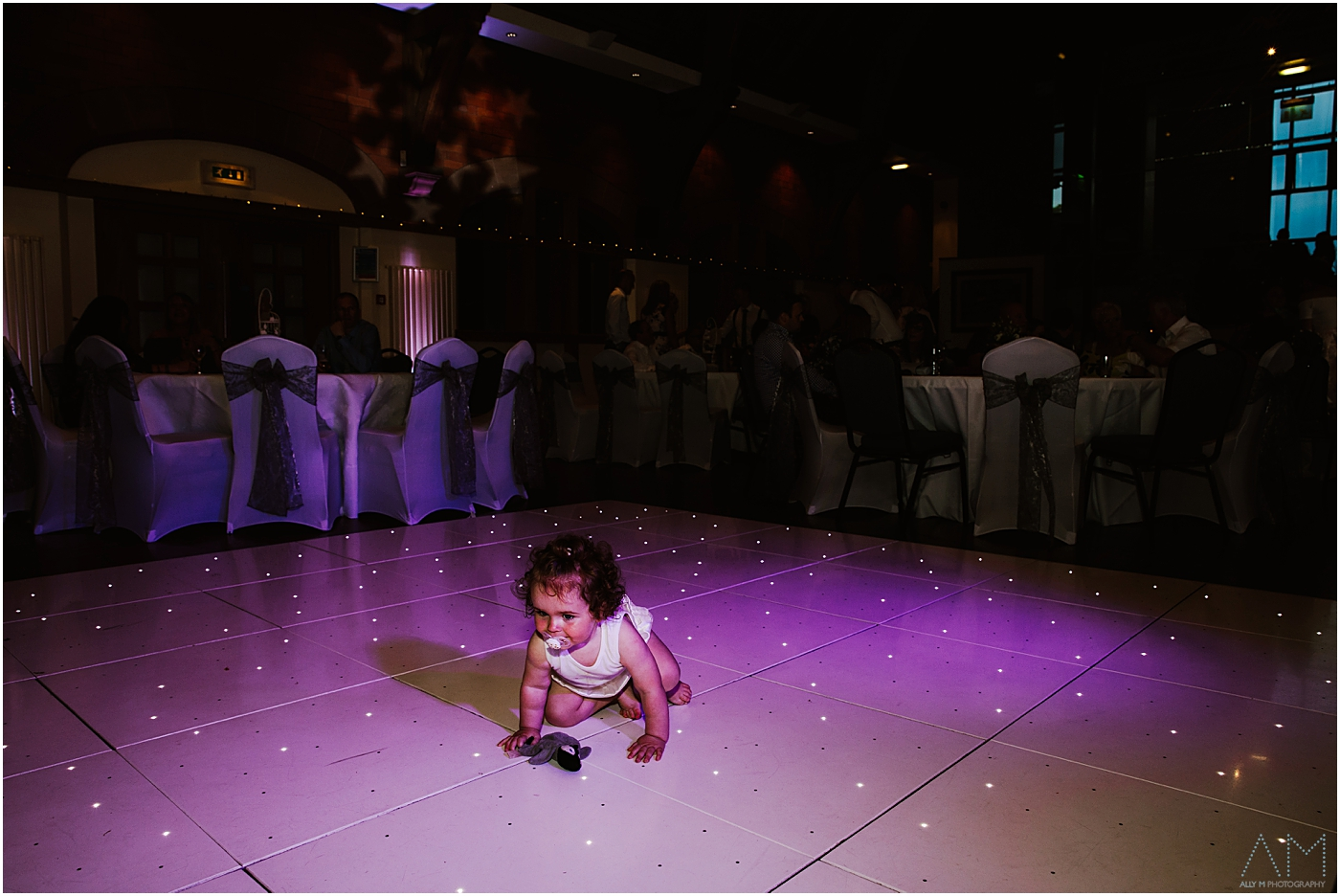 Baby on the dancefloor