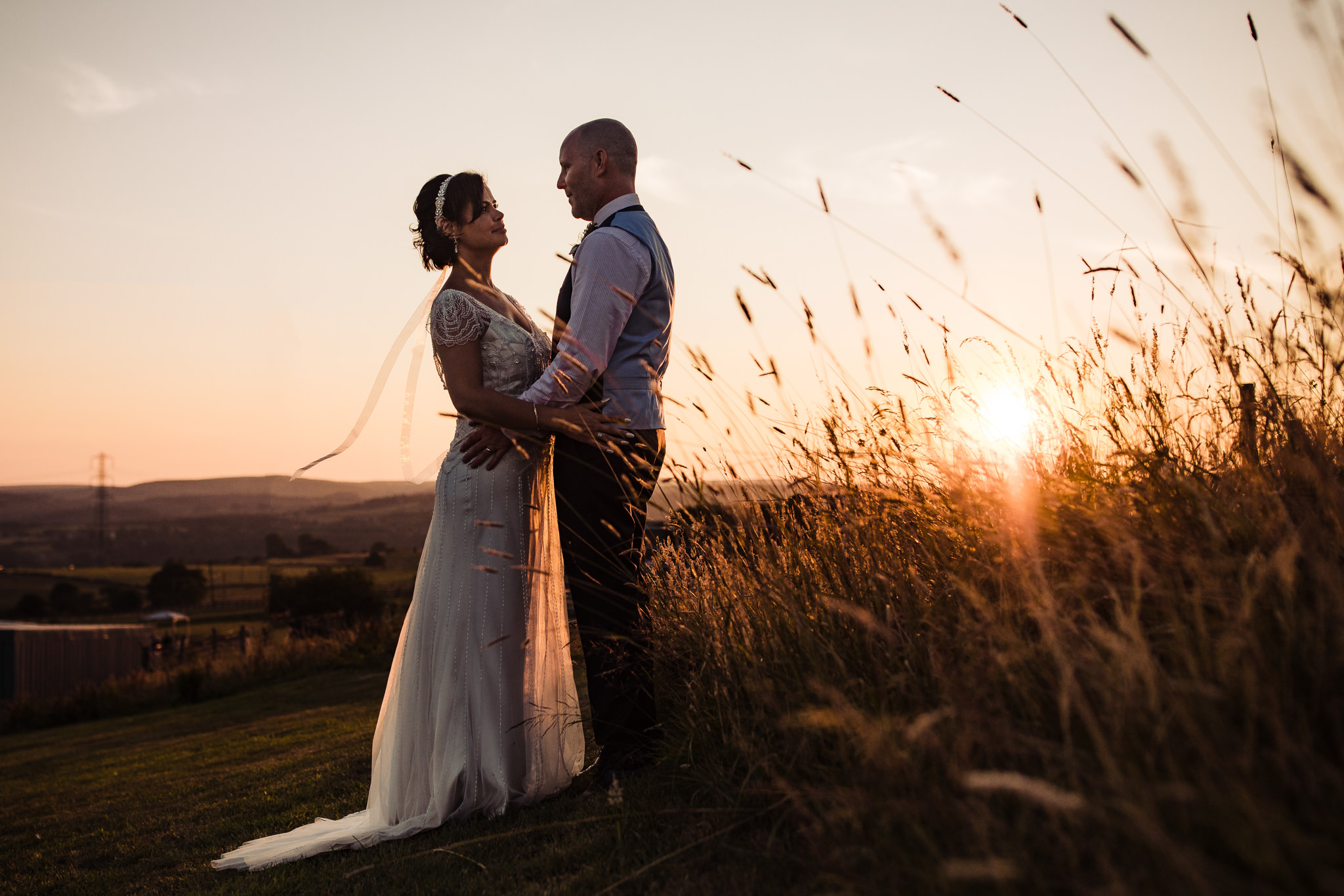Wellbeing farm wedding photographer