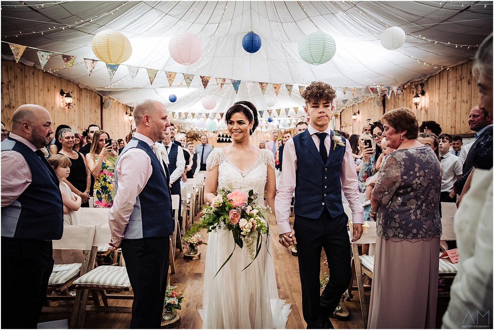 Wedding at Wellbeing farm