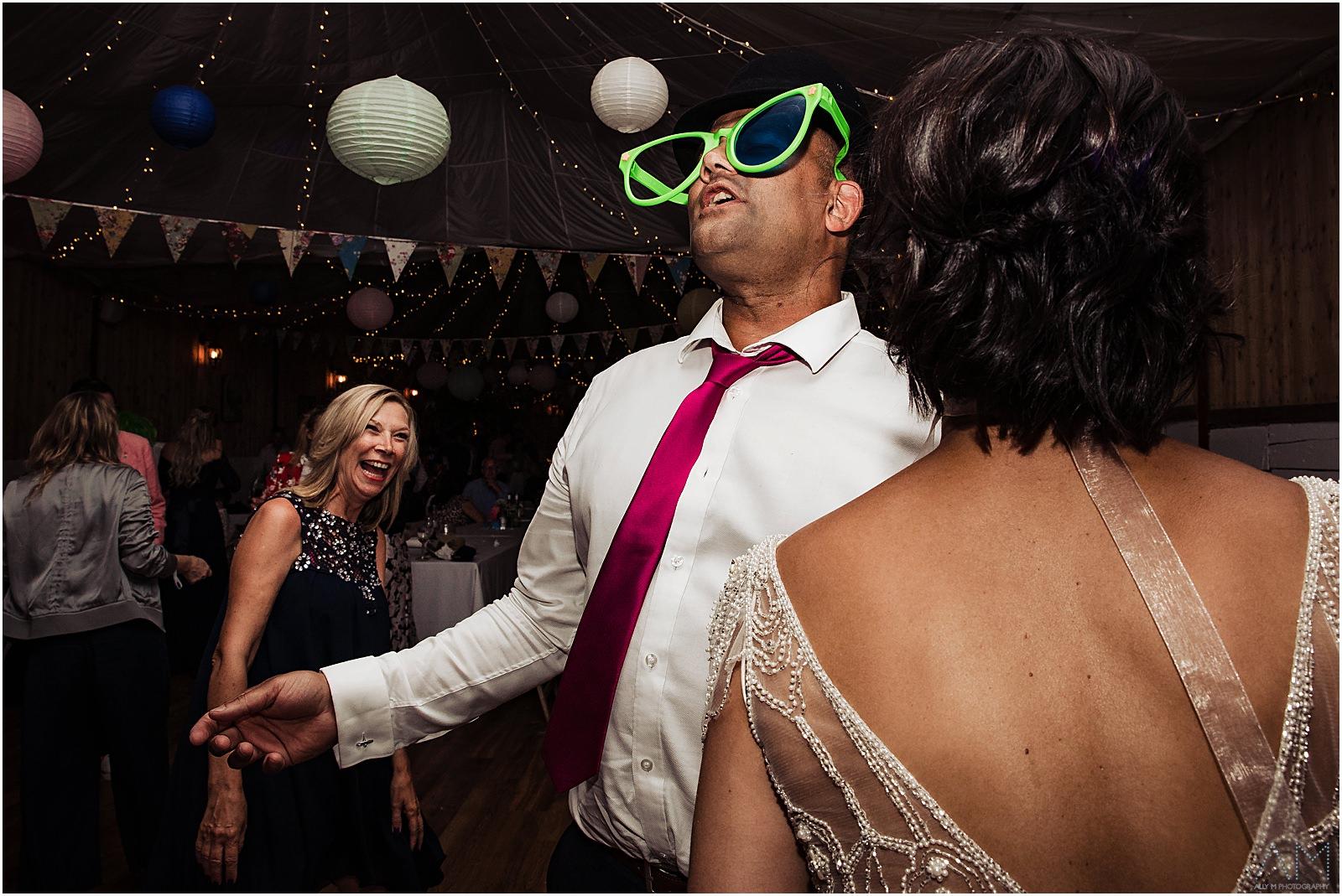 Dancing in fancy dress