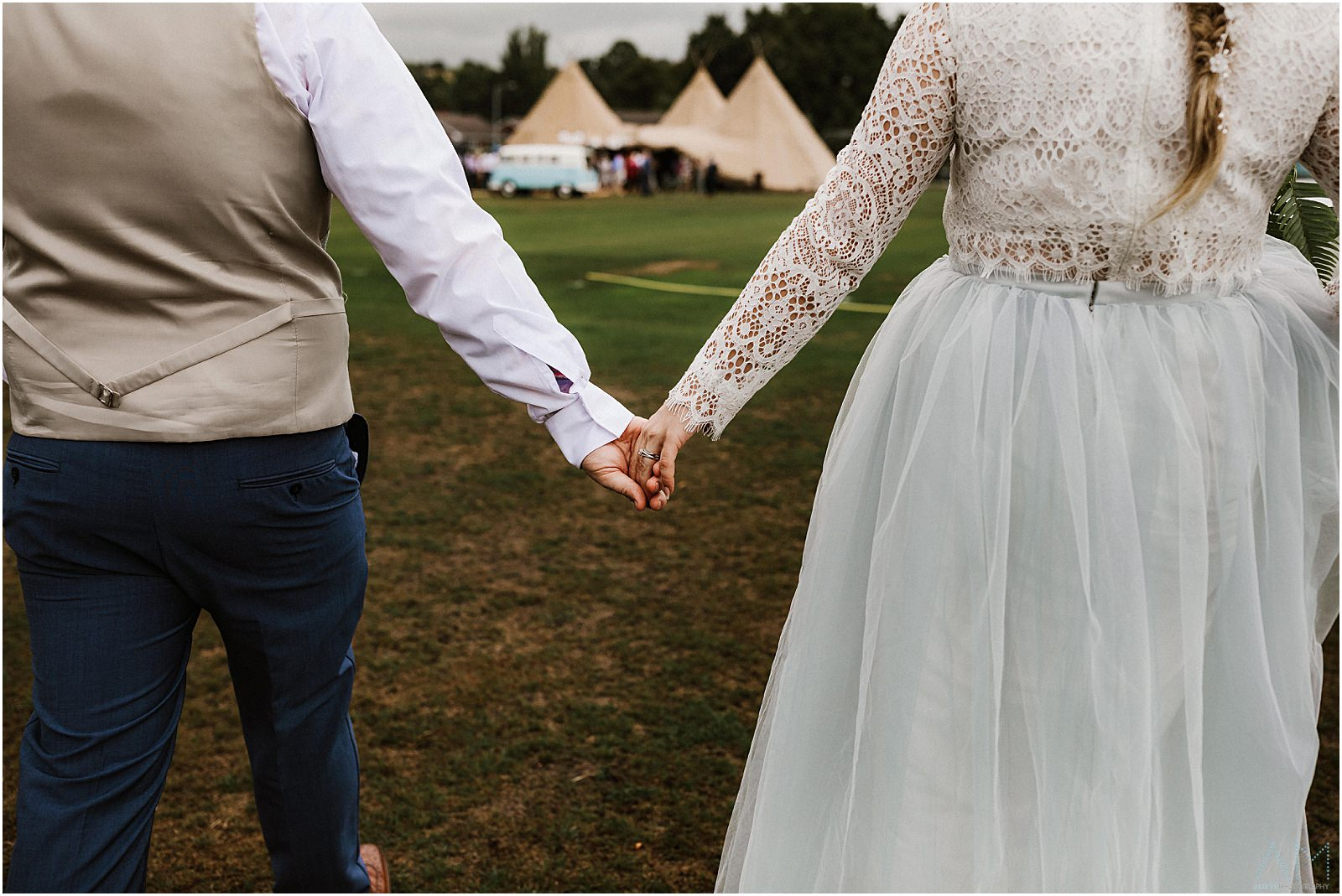 Teepee Wedding Lancashire