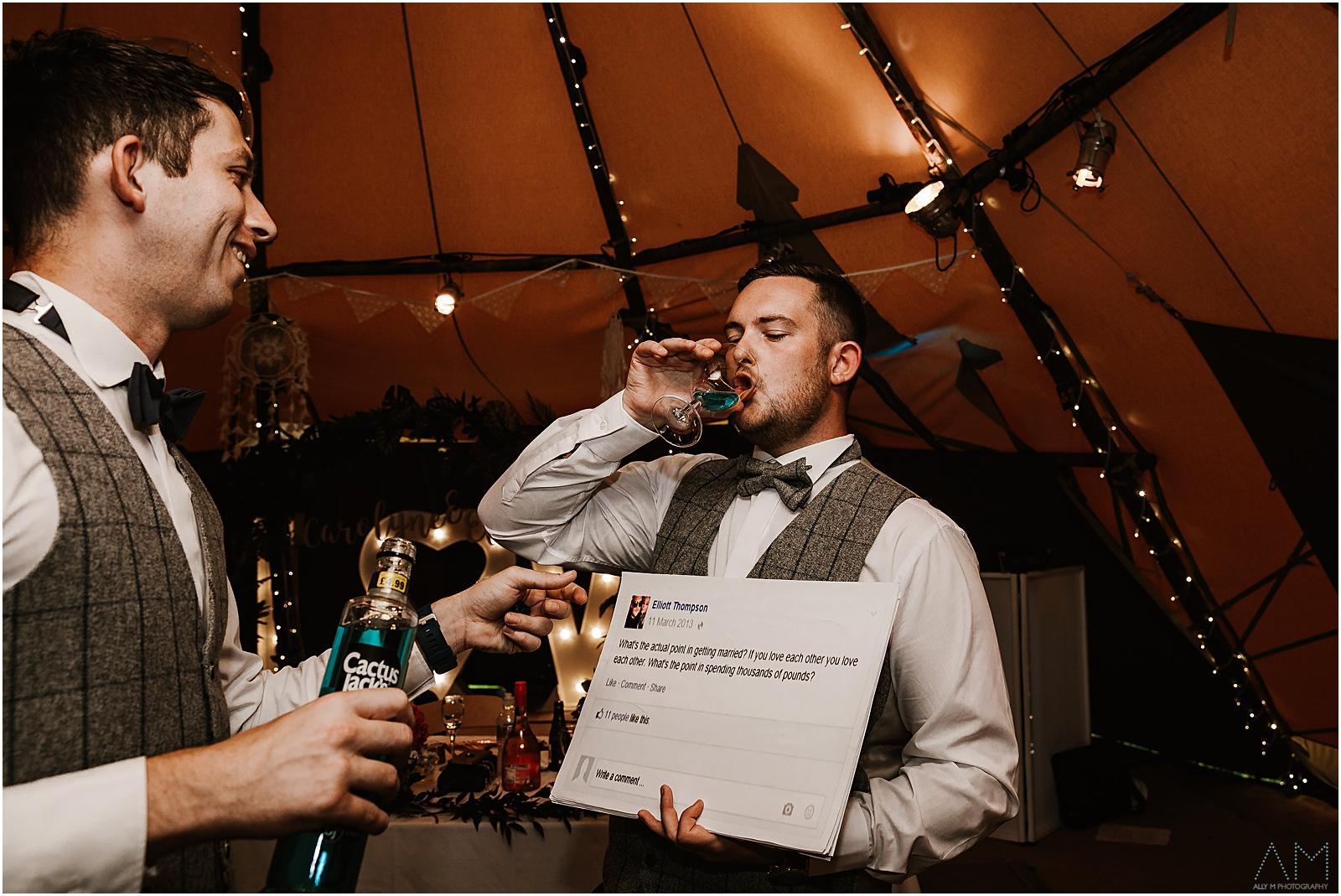 Teepee Wedding Photographer