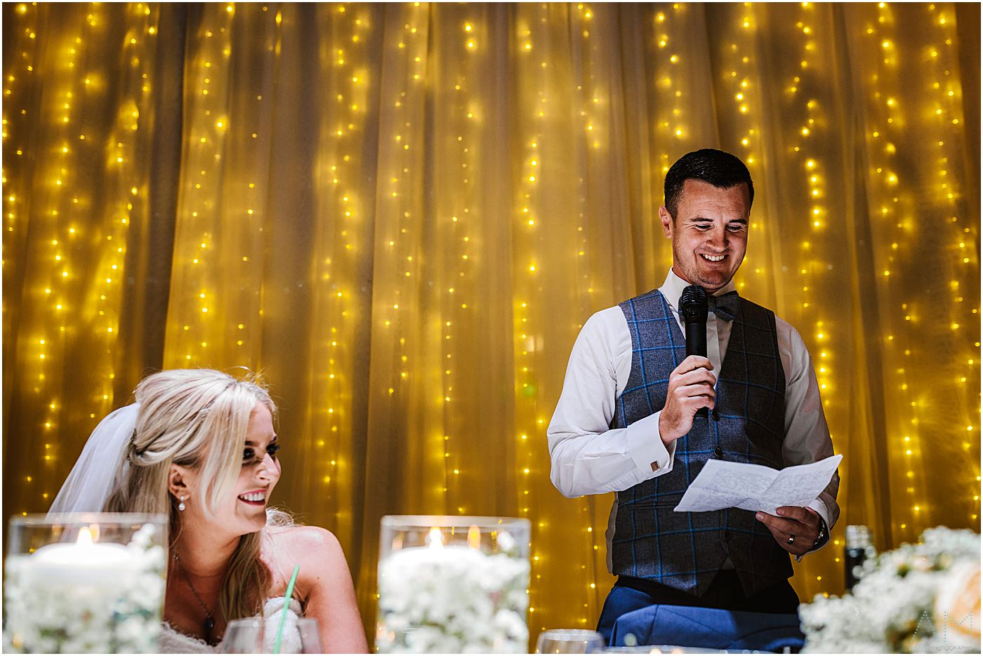 Speeches at rivington hall barn