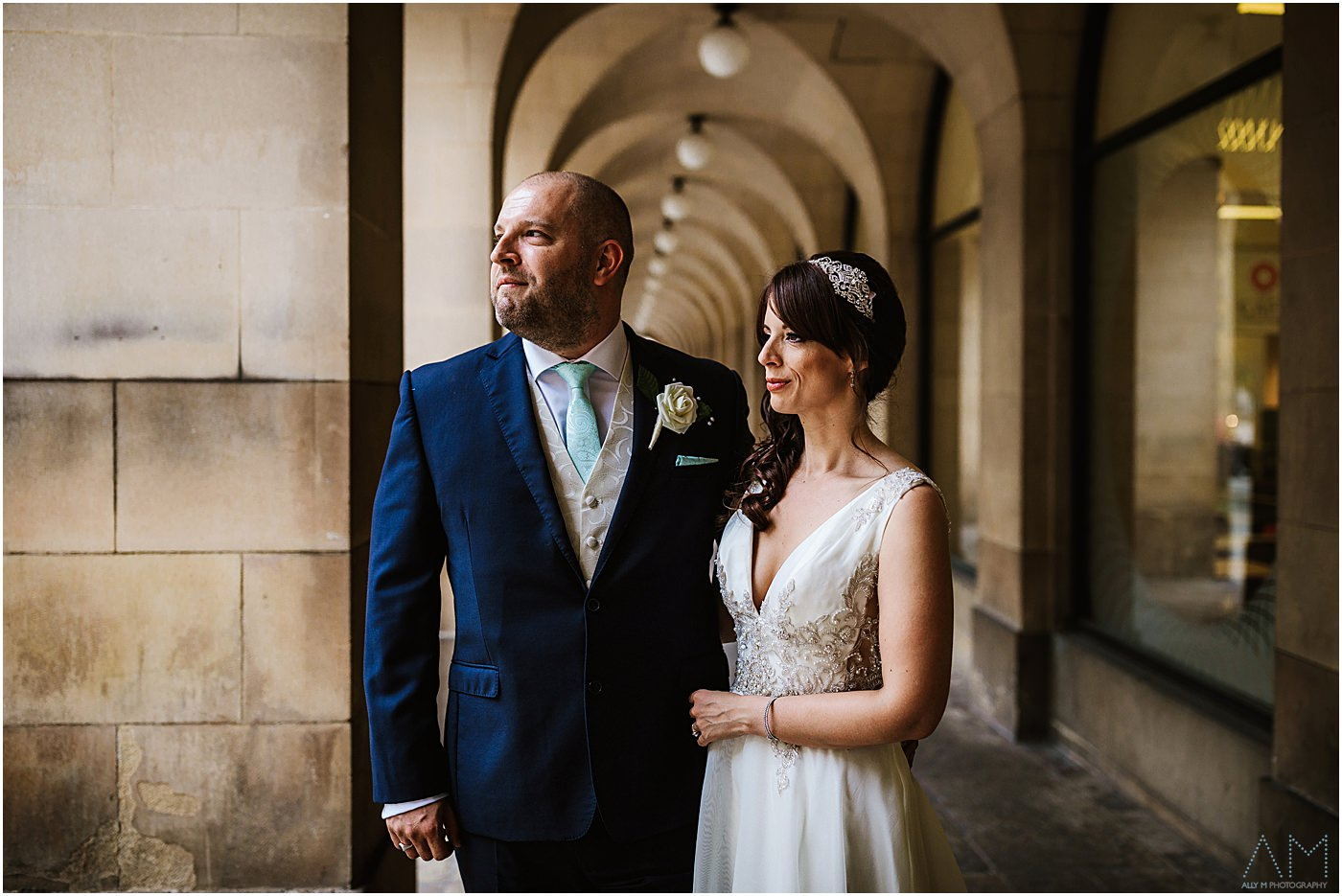 Wedding photography in Manchester city centre