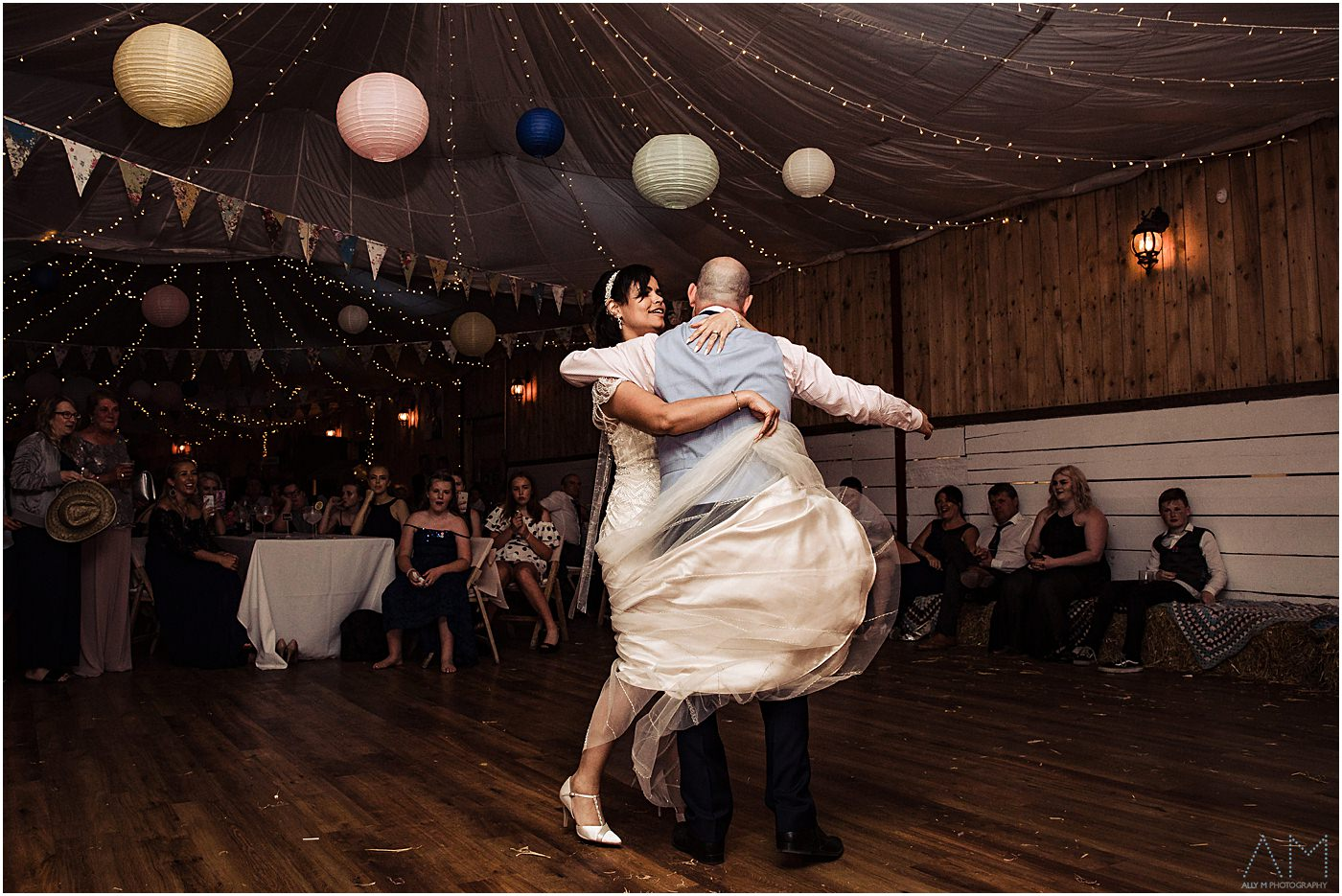 First dance at Wellbeing farm