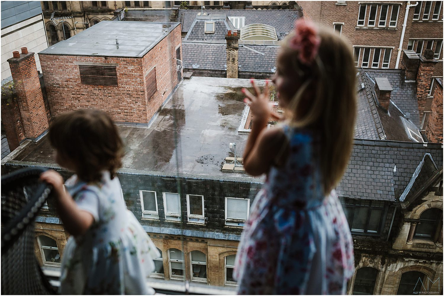 Kids on the terrace