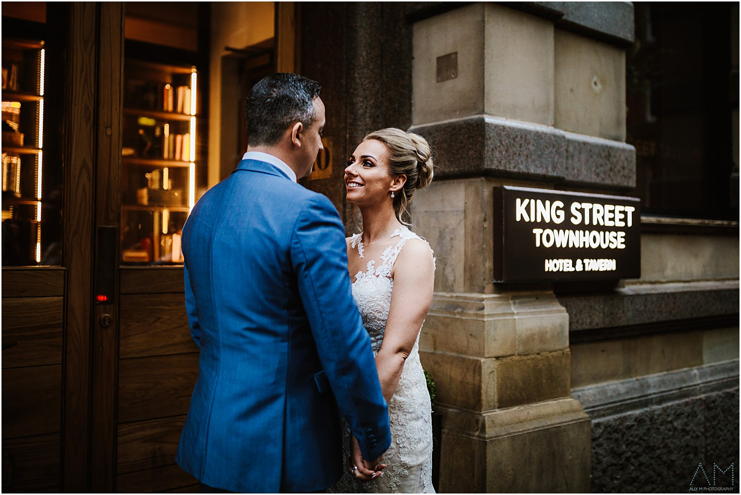 Wedding at King street townhouse