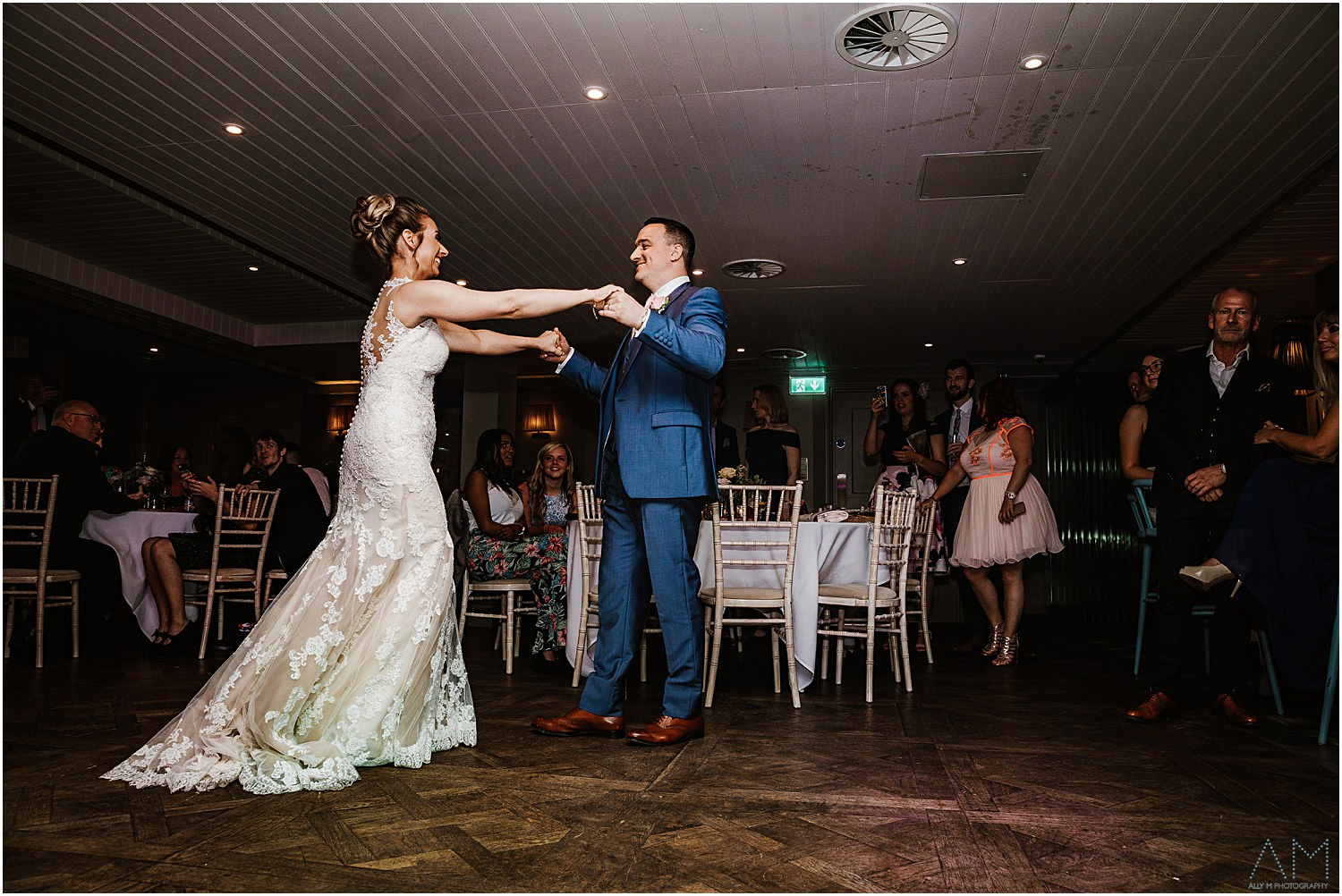 First dance at King street townhouse
