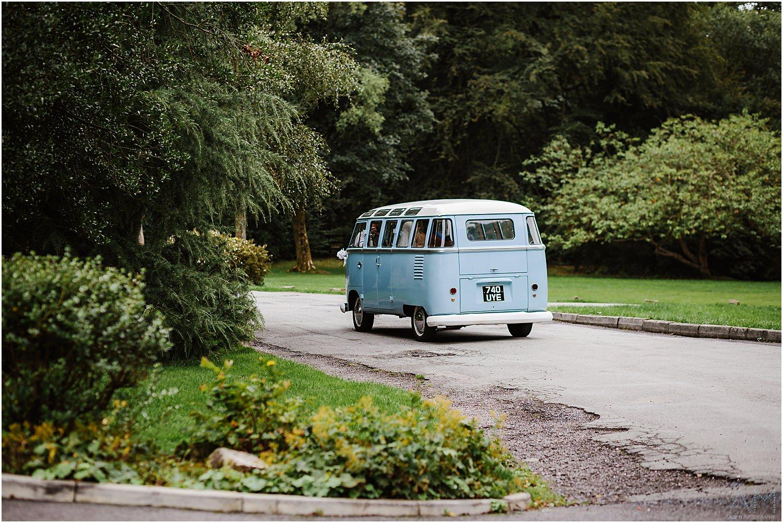 wedding camper van