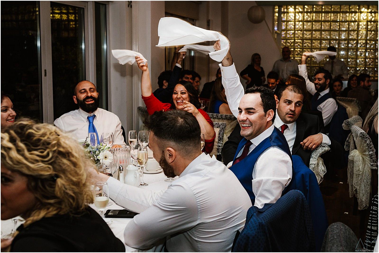 Italian wedding in Manchester