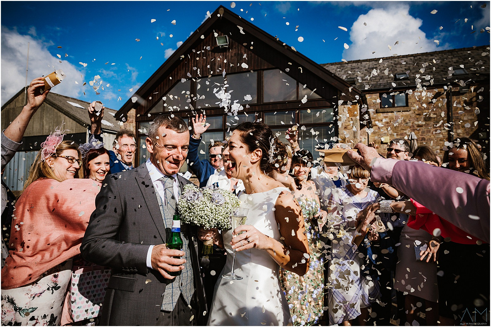 Confetti at Beeston Manor