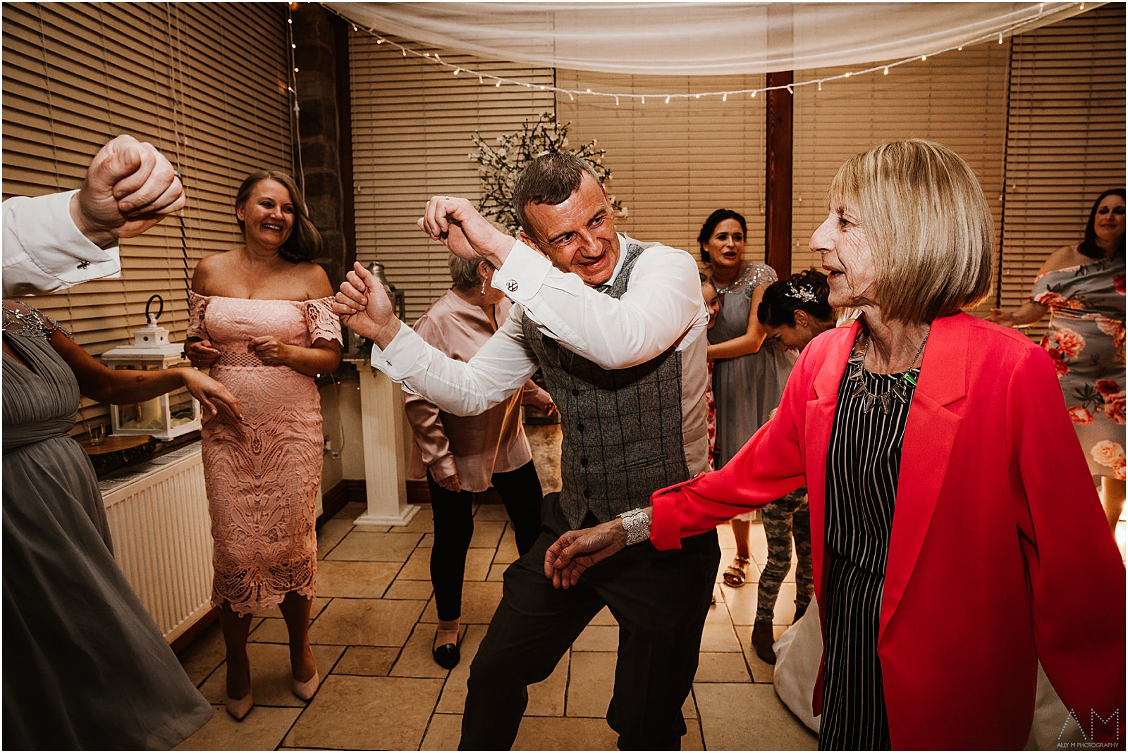 Groom dancing with his Mum