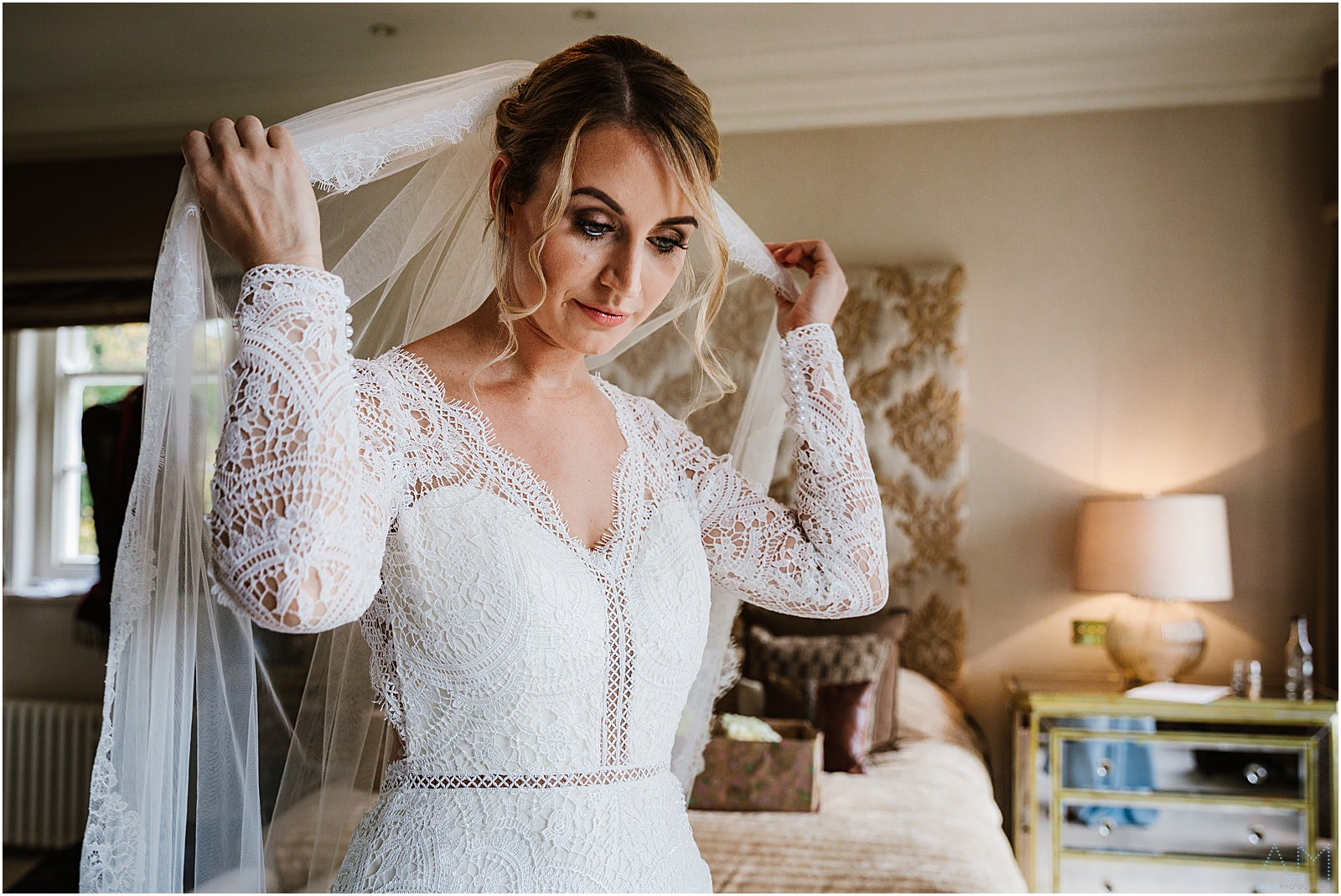 Bride at Delamere manor