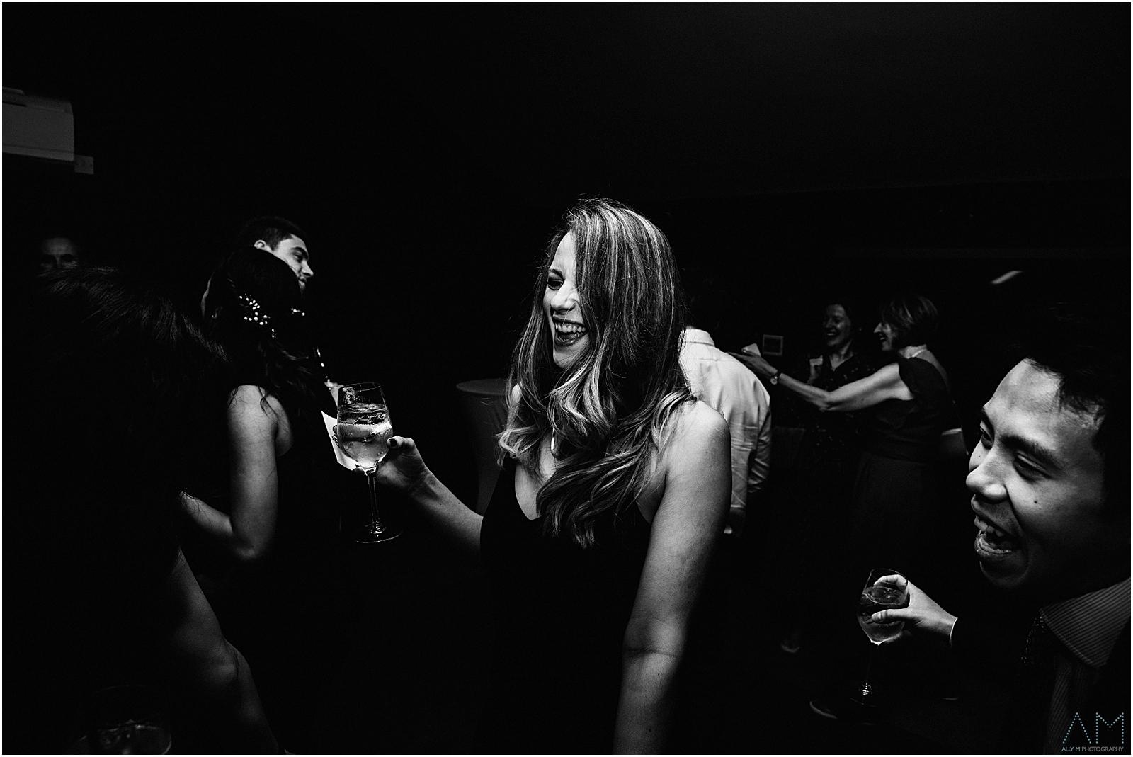 Drinks on the dancefloor