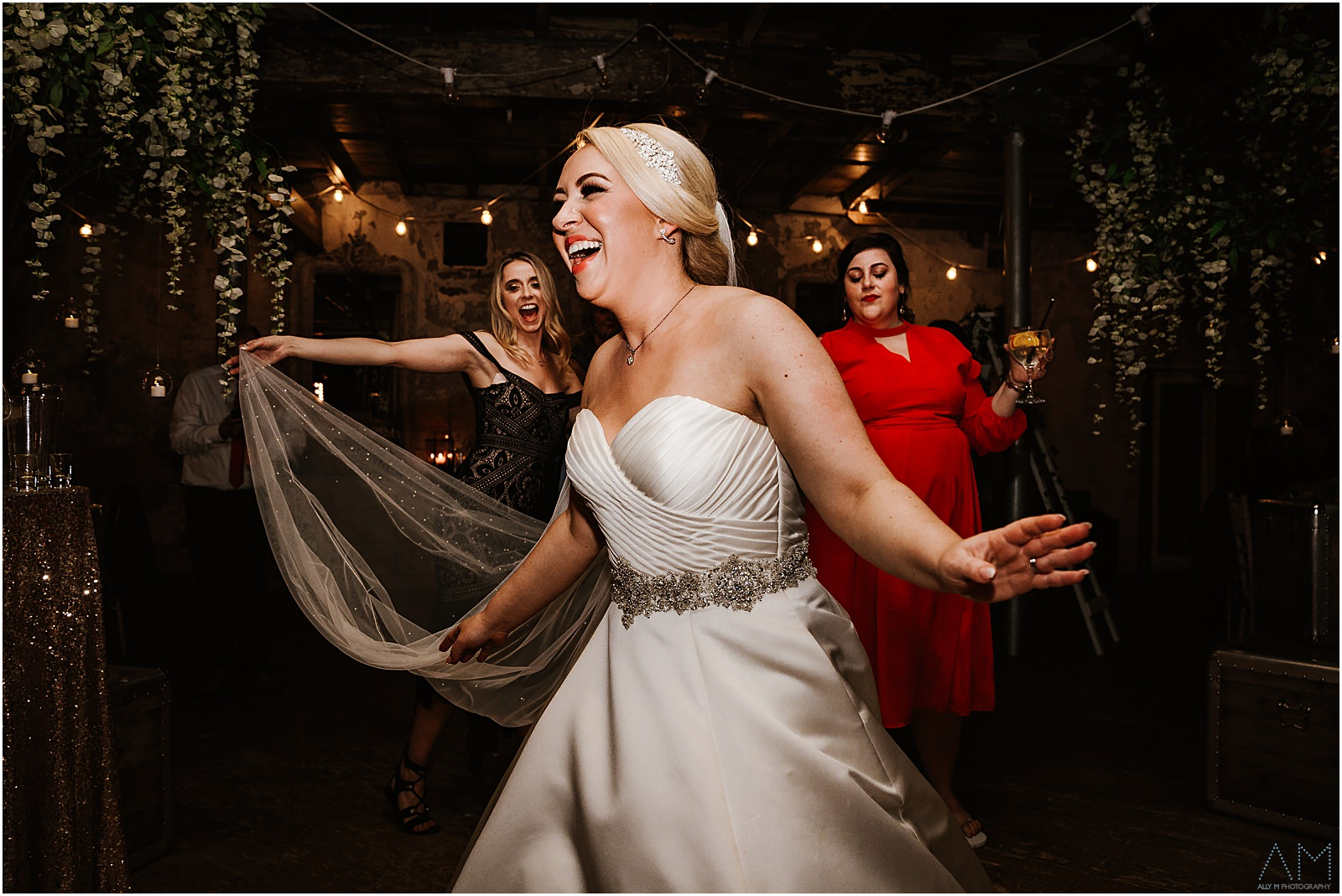 Bride at Holmes Mill
