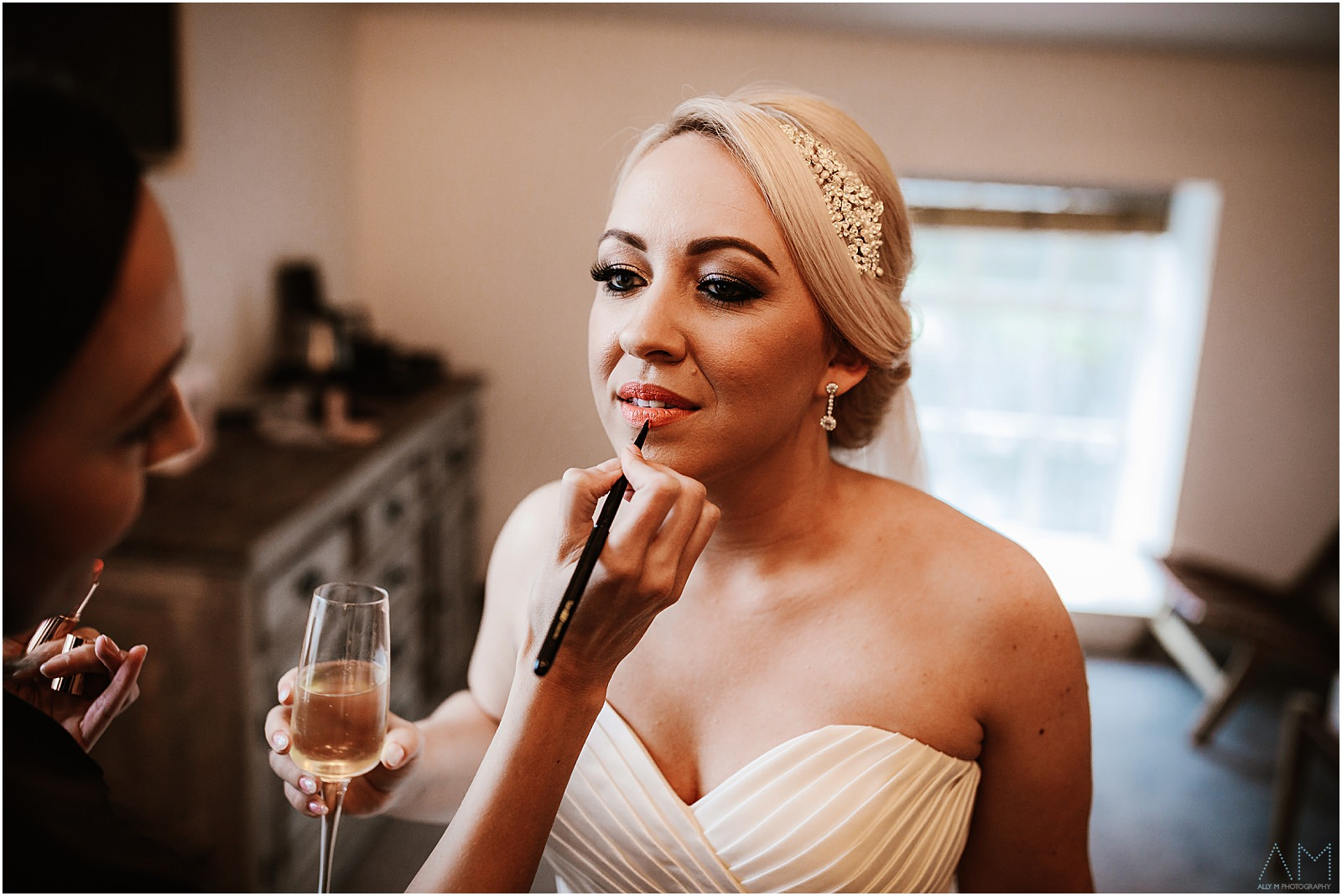 Bridal preparations at Holmes Mill
