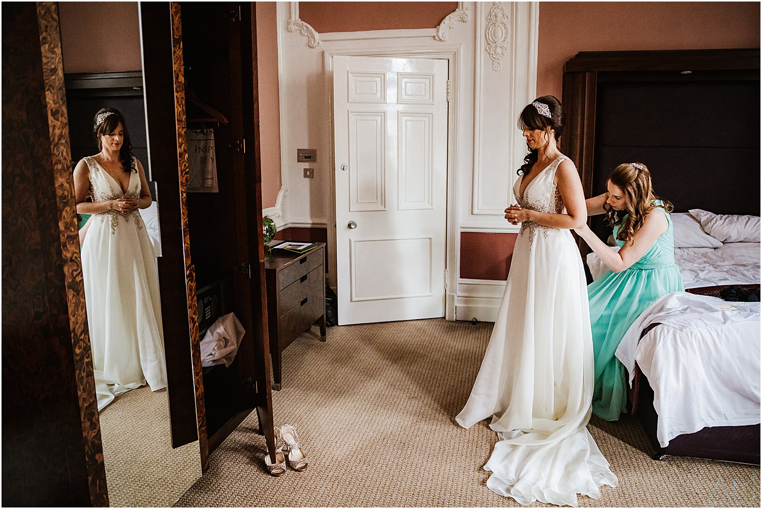 Midland Hotel wedding photography