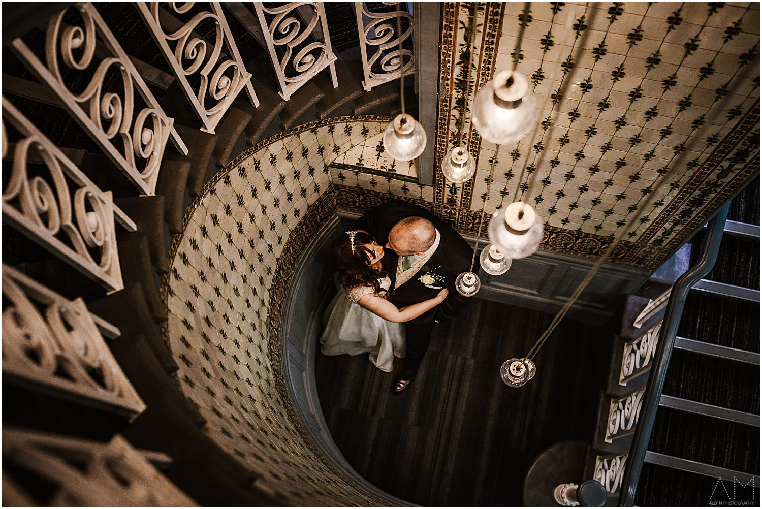 Staircase in Midland hotel