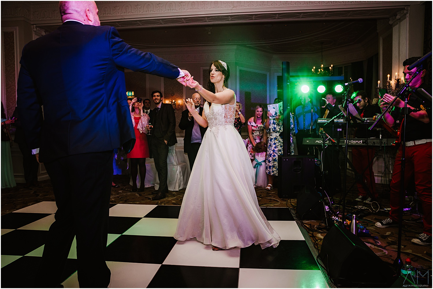 First dance at Midland hotel Manchester