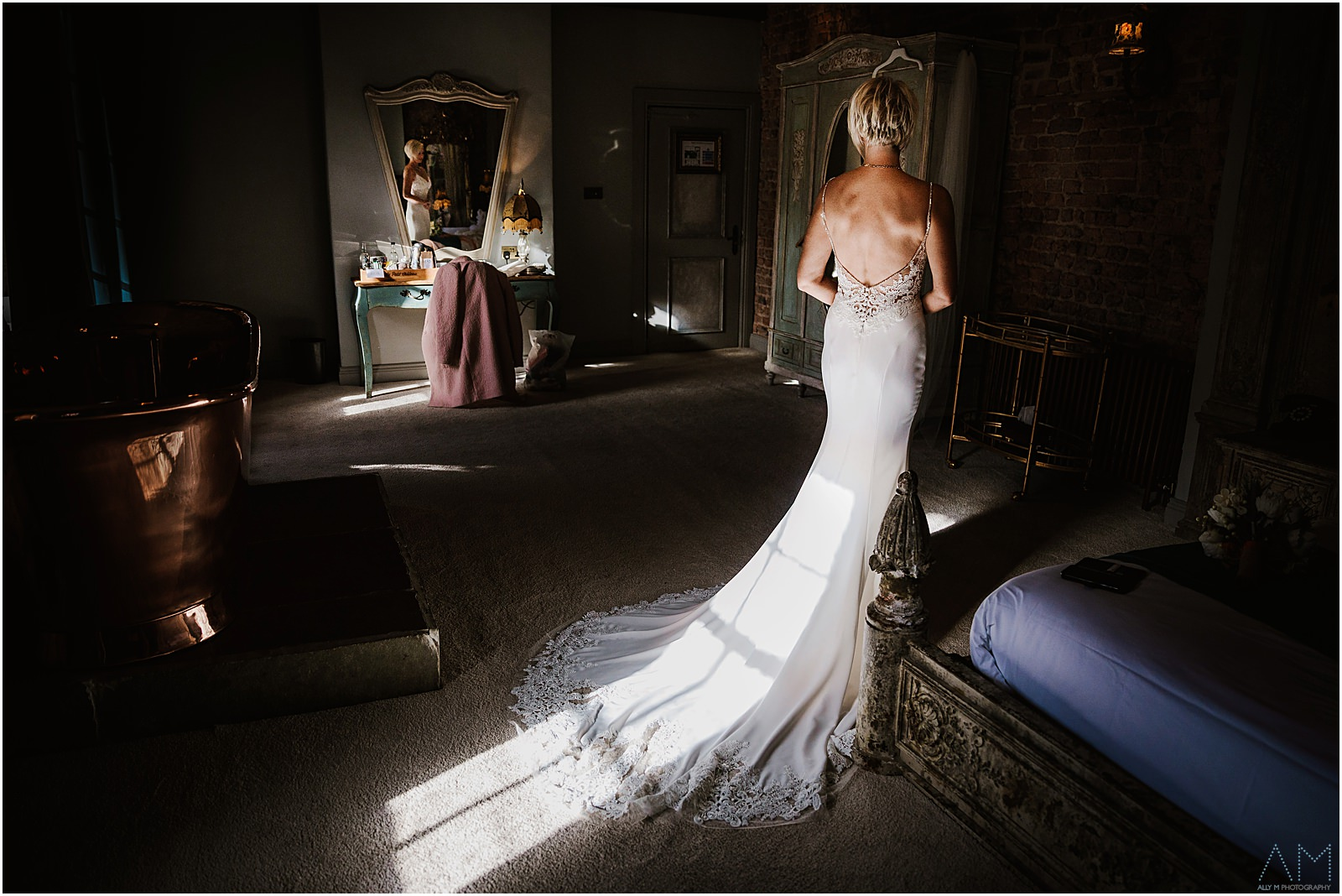 Bride at Le Petit Chateau