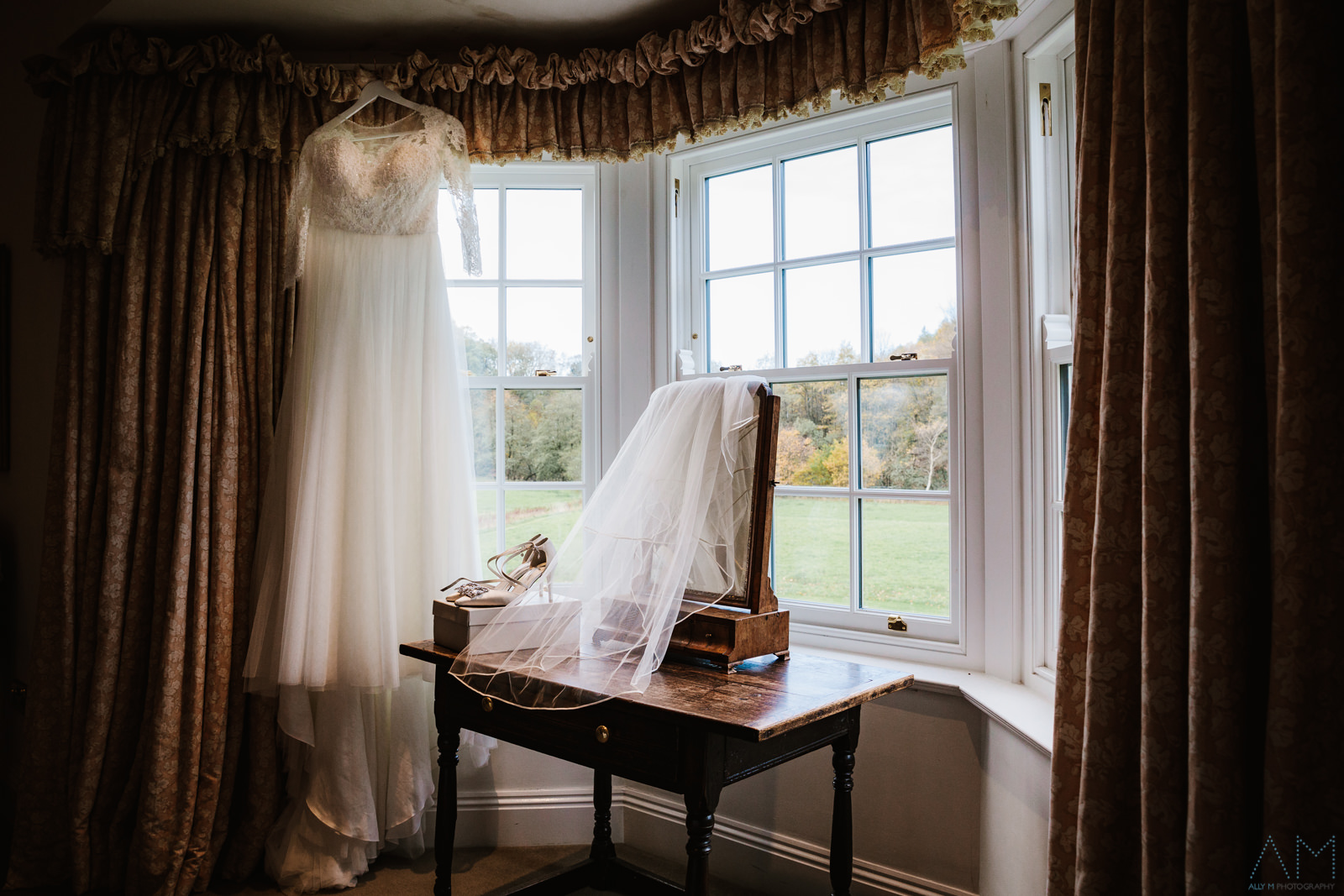 Wedding details at The Inn At Whitewell