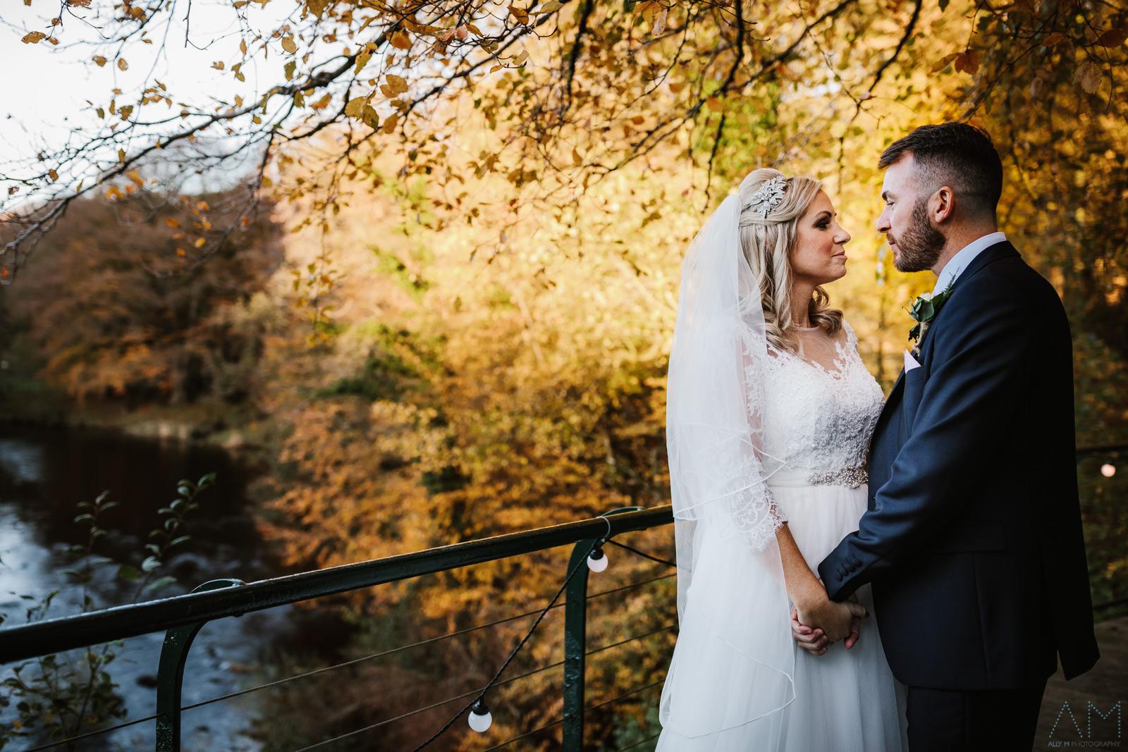 Inn at whitewell wedding photo
