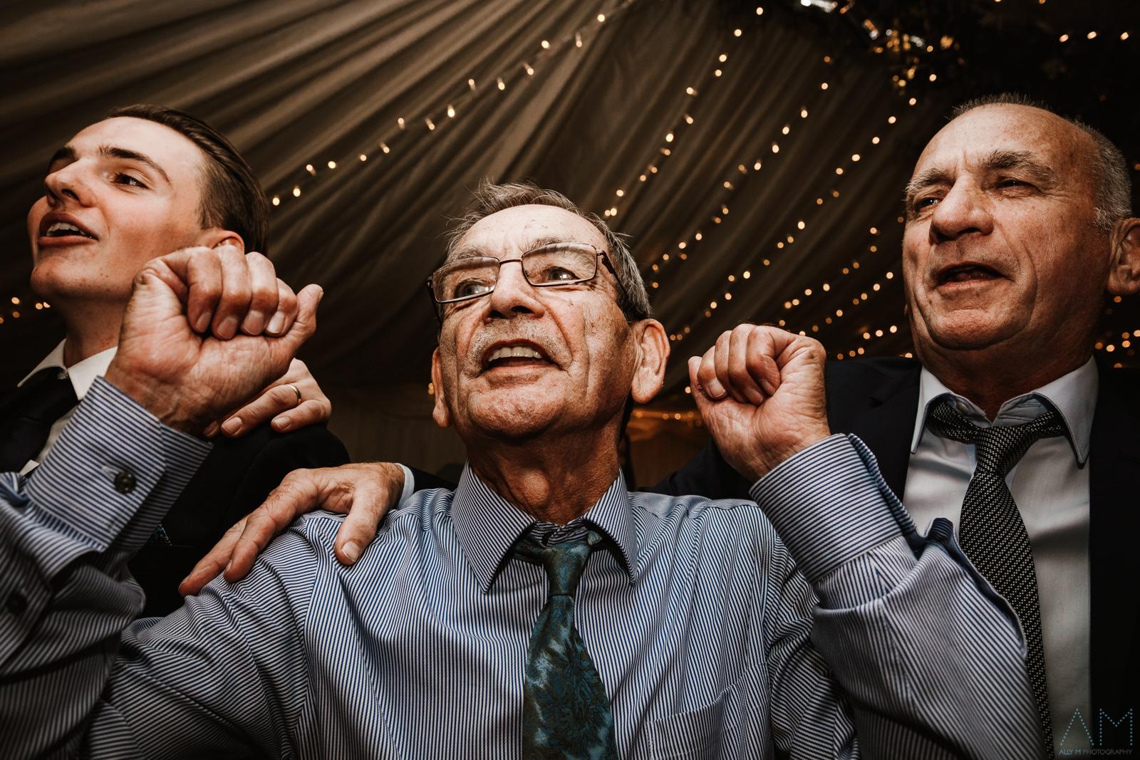 Guys on the dancefloor