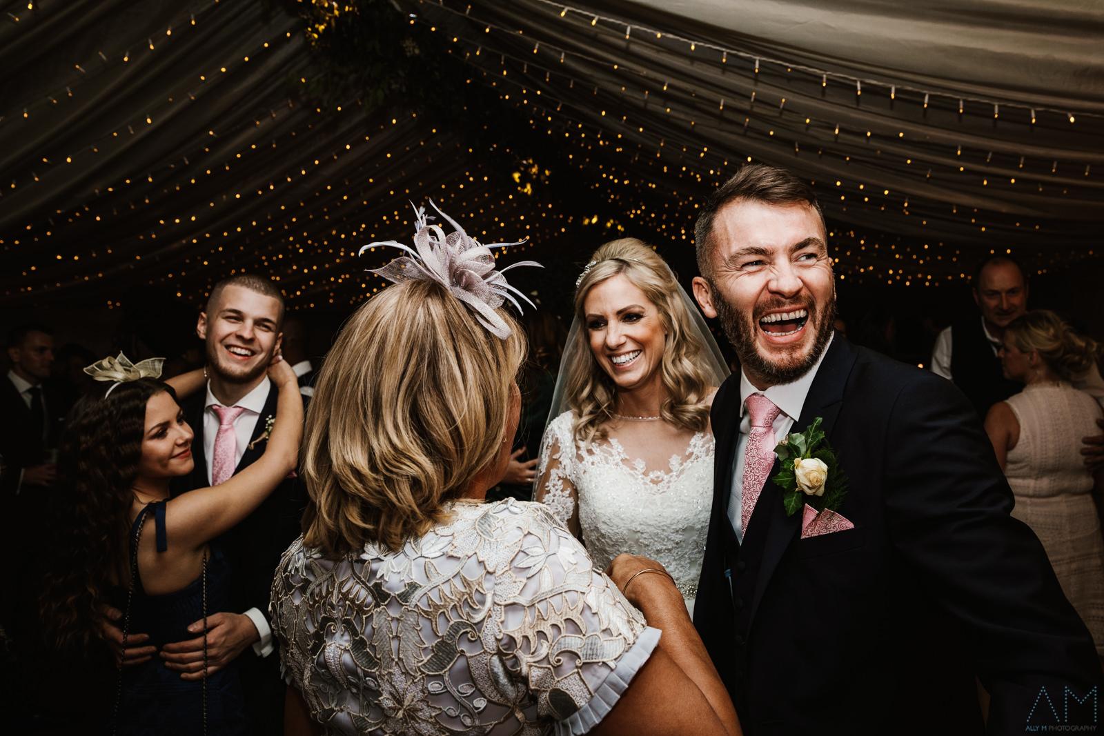 Inn at whitewell wedding fun