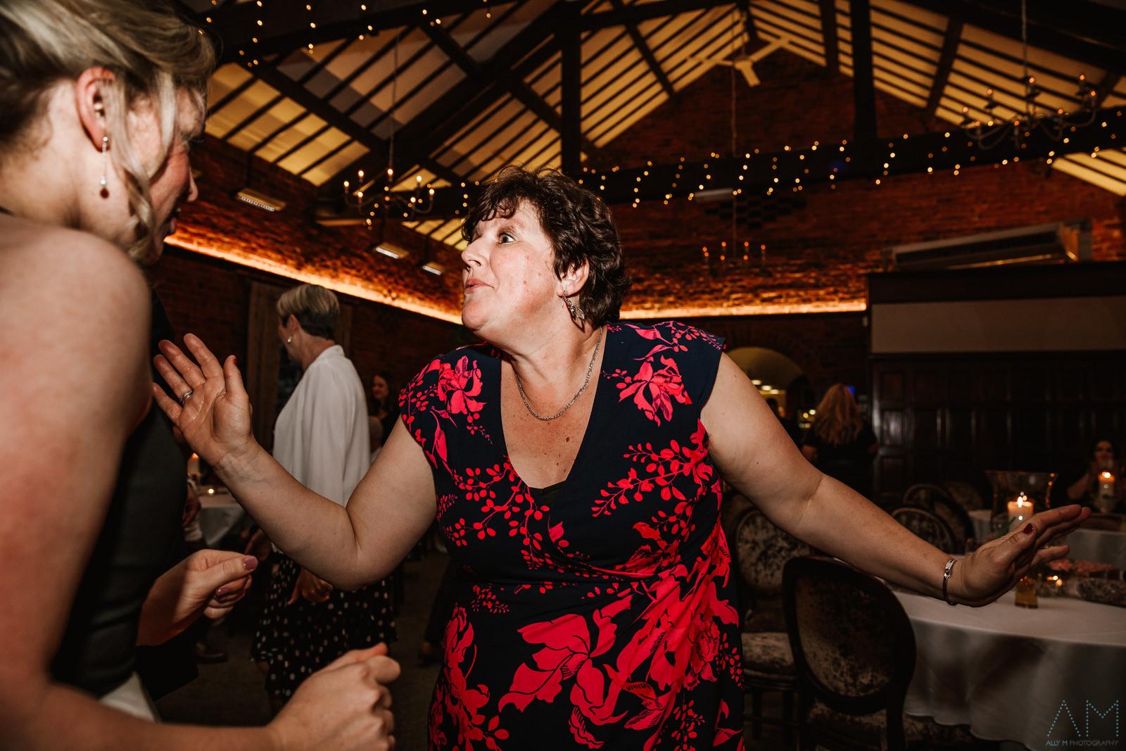 Dancing at Adlington hall