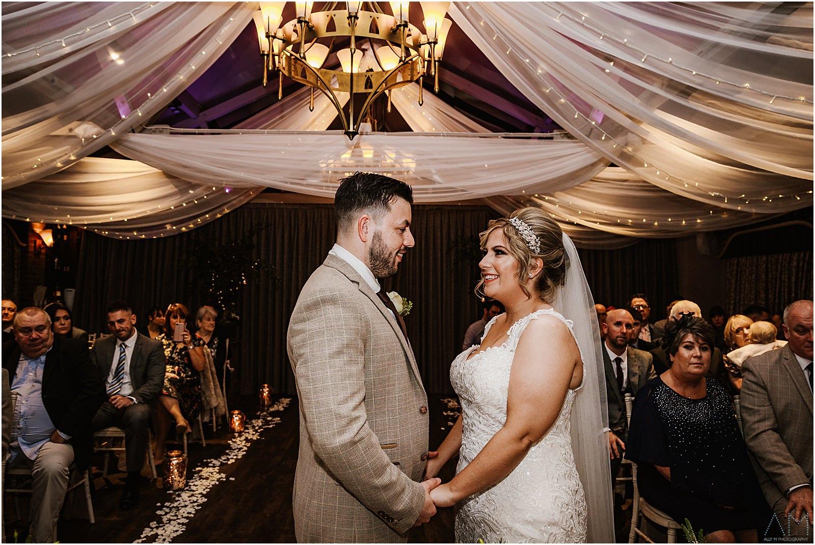 Bartle hall wedding ceremony