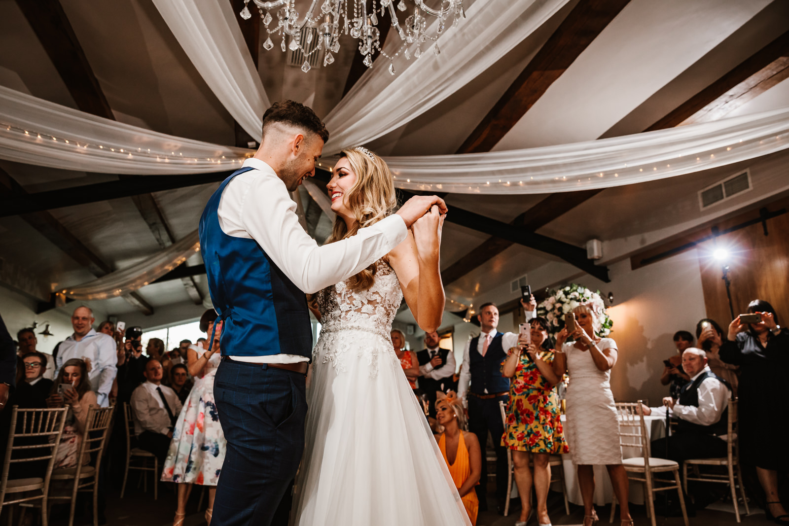 First dance at Hyde Bank Farm
