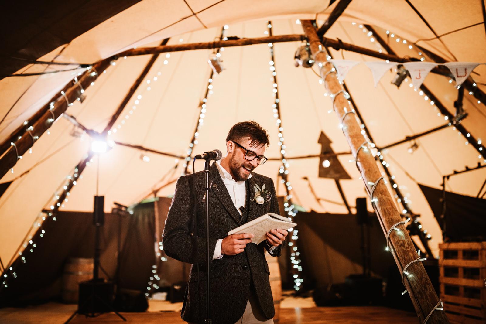 The groom speech