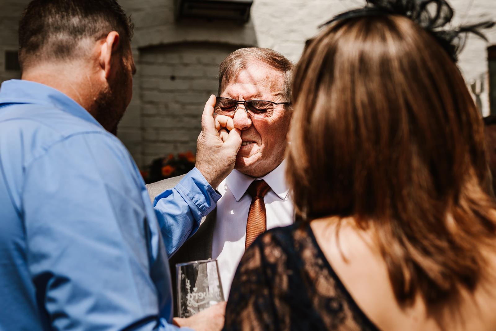 Cock o barton wedding